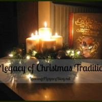 A Legacy of Christmas Traditions and a Link Up