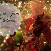 A Legacy of Joy in Jesus at Christmas (Legacy Leaver Thursday Link Up)