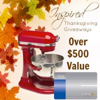 Inspired Thanksgiving Giveaways